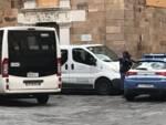 lite passante navetta polizia piazza del Salvatore