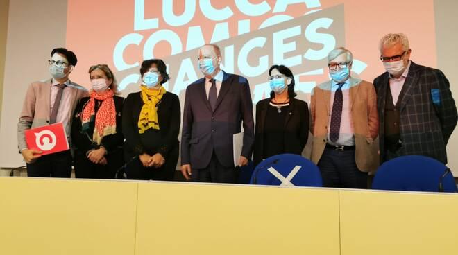Lucca Changes presentazione Villa Bottini