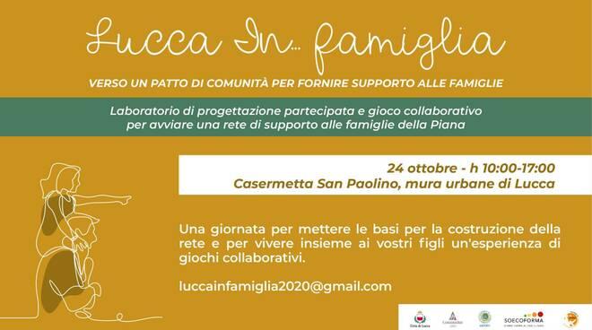 Lucca In... Famiglia incontro Casermetta