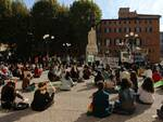 Manifestazione degli studenti per il clima