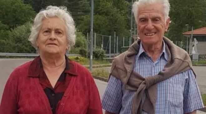 Mario Ferri e Giorgia Rossi Gorfigliano nozze di diamante