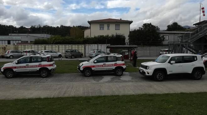 Nuovi mezzi di protezione civile e polizia locale inaugurazione Orto Murato