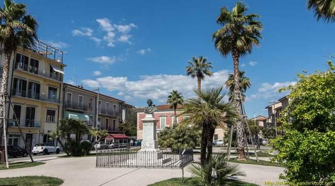 piazza shelley viareggio