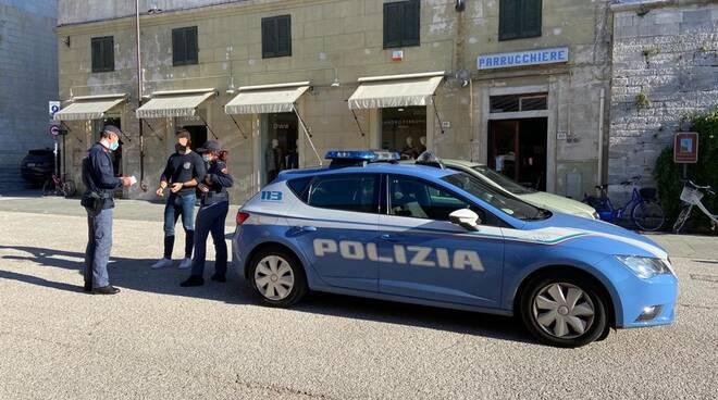 polizia Marina di Pietrasanta rissa