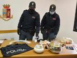 polizia sequestro droga viareggio