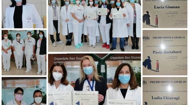 premio donne e covid ospedale san giuseppe