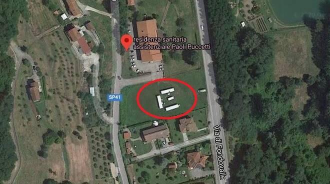 Progetto area di accoglienza Gallicano