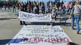 protesta ristoranti a Viareggio