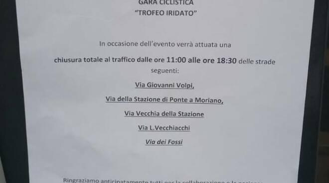 proteste negozianti Ponte a Moriano