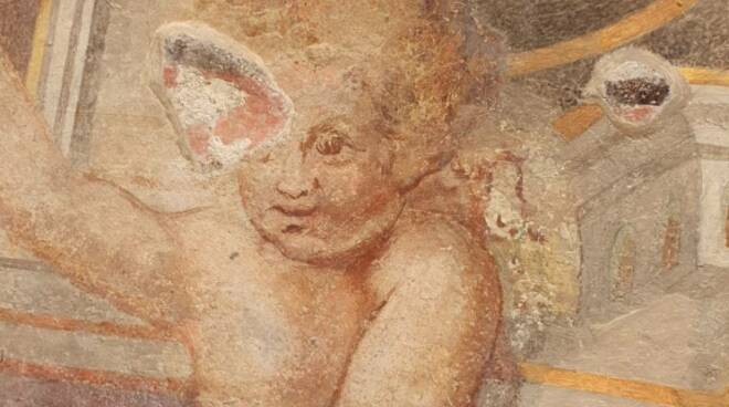 restauro affresco Porta a Piastri