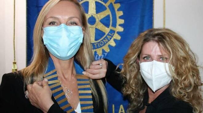 Rotary club di San Miniato Silvia Boldrini e Roberta Salvadori