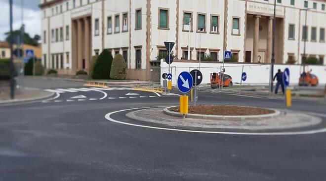 rotatoria viale Cadorna