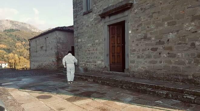 Sanificazione Villa Collemandina