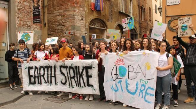 sciopero clima earth strike Lucca