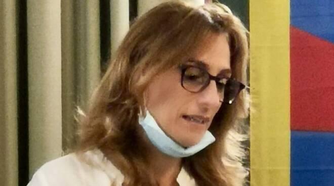 Serena Mammini consiglio comunale mascherina