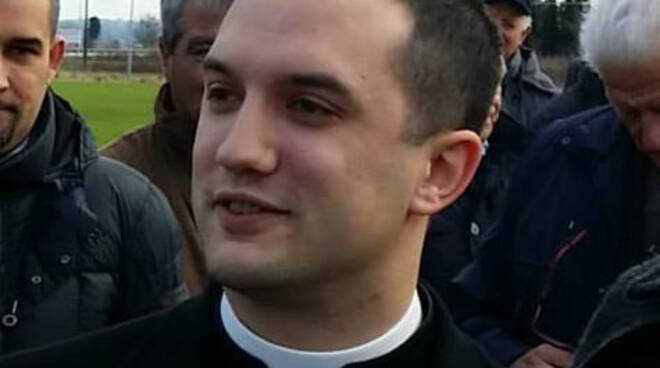 Simone Meini nuovo parroco valdegola