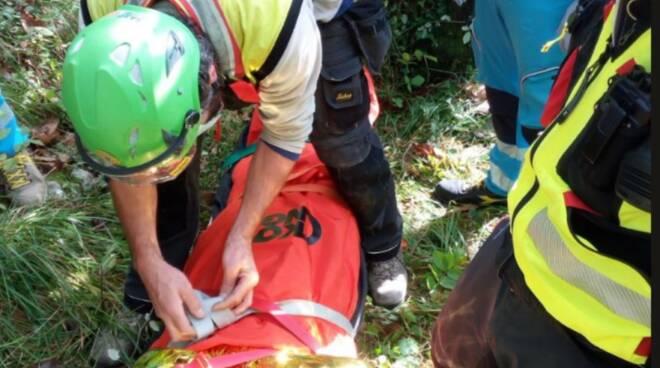 soccorso alpino e speleologico toscano soccorso Casoli Camaiore