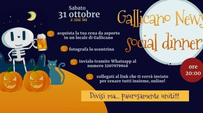 Social dinner Gallicano