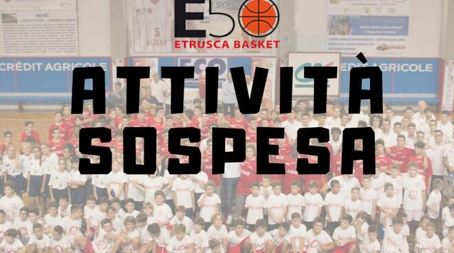 sospensione attività settore giovanile Etrusca San Miniato