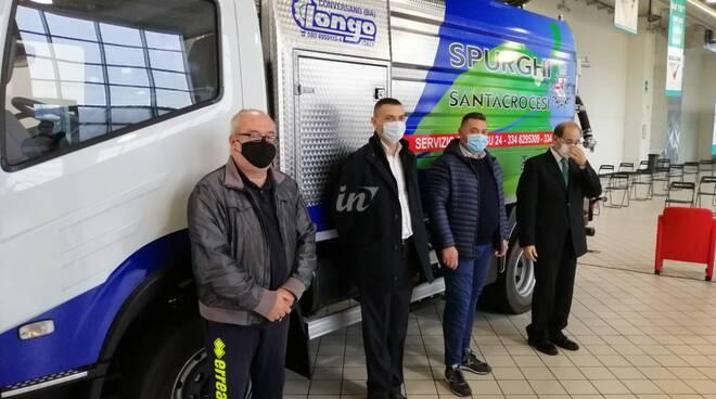Spurghi Santacrocesi, Valiani e Longo presentano il nuovo mezzo