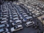 tassisti protesta a firenze