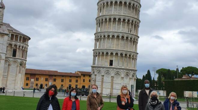tour operator stranieri in visita alle Terre di Pisa