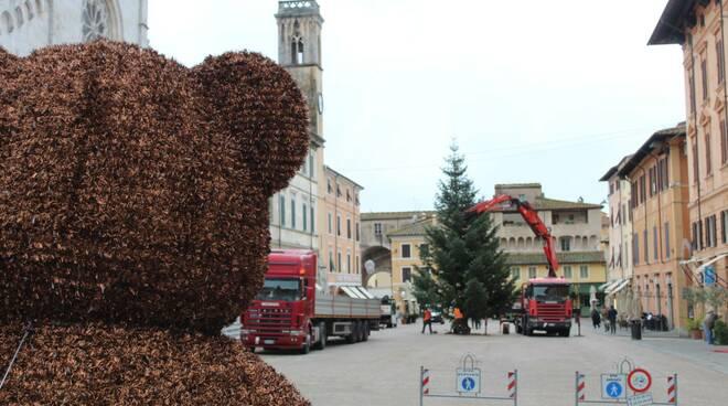 albero di Natale a Pietrasanta