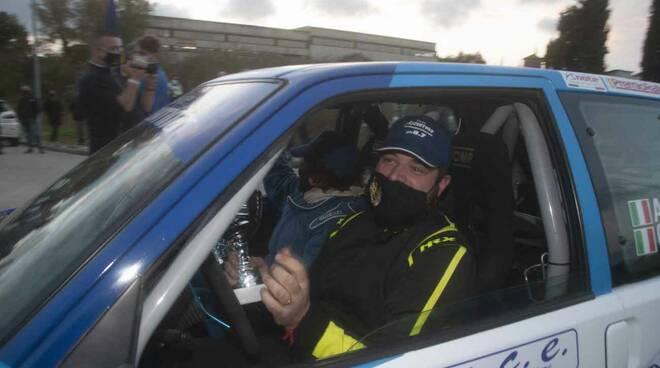 Alessandro Bravi premio Rally Aci Lucca