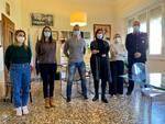 Alessio Ghelardoni, Sara Daini, Scalzini Ilaria nuovi agenti della polizia municipale di santa croce