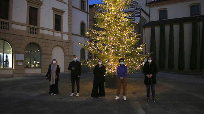 Altopascio vetrine alberi Natale 2020