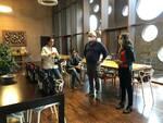 Anna Scholes in visita al consorzio Vini delle Terre di Pisa