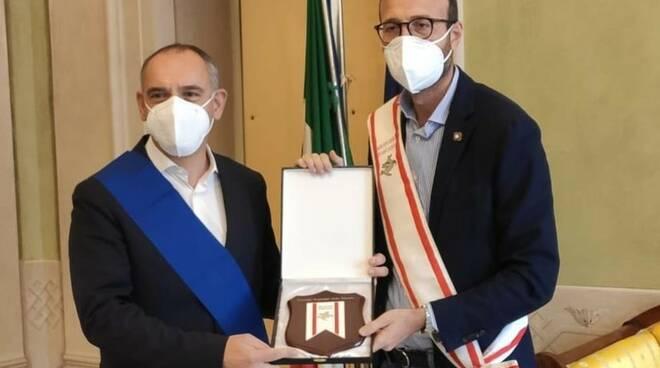 Antonio Mazzeo e Luca Menesini