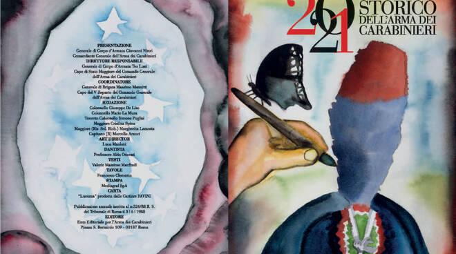 Calendario storico 2021 dei carabinieri