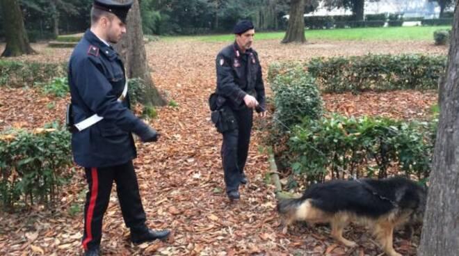carabinieri droga Cascine Firenze