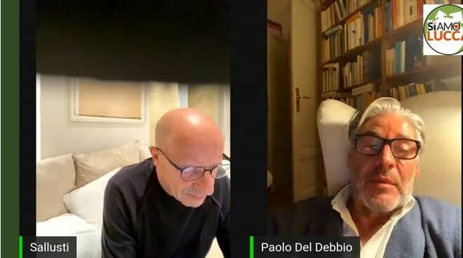 Conferenza Sallusti e Del Debbio