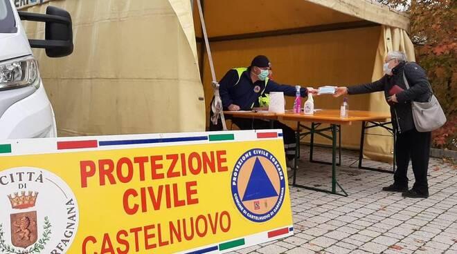 Consegna mascherine Castelnuovo