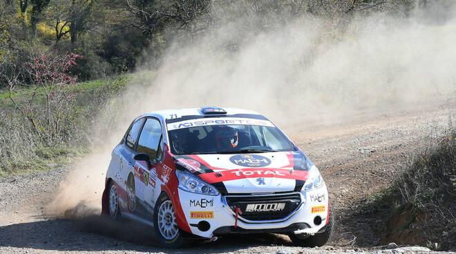 Davide Nicelli rally Tuscan Rewind