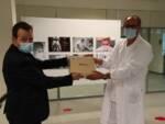 donazione tablet ospedale San Luca fotografo mostra