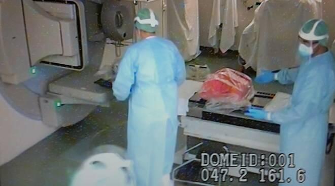 equipe radioterapia ospedale Lucca