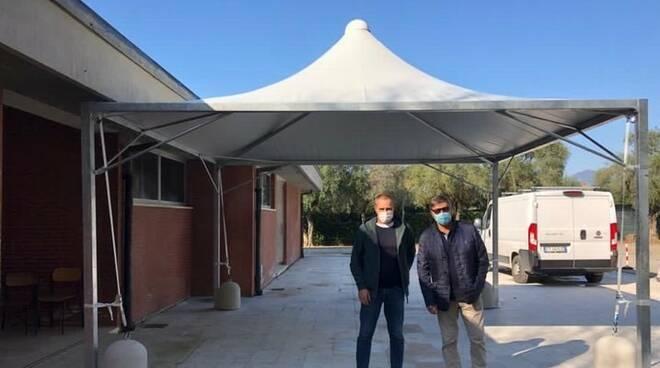 Gazebi scuole Forte dei Marmi