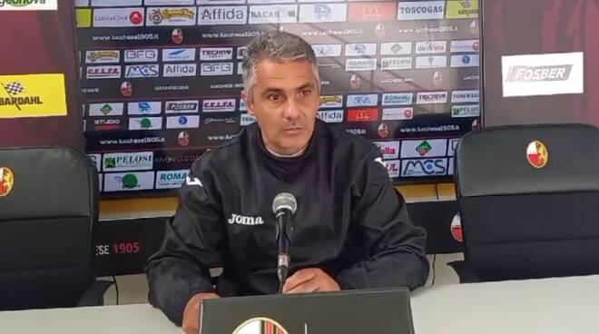 Giovanni Lopez allenatore Lucchese