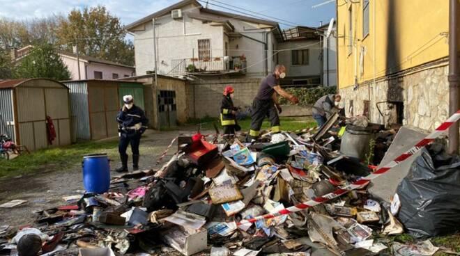incendio via Pacini Porcari