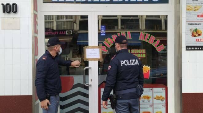 Kebab chiuso
