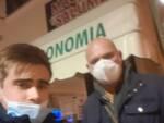 Masini Scannerini davanti a macelleria Da Giampaolo tentata rapina