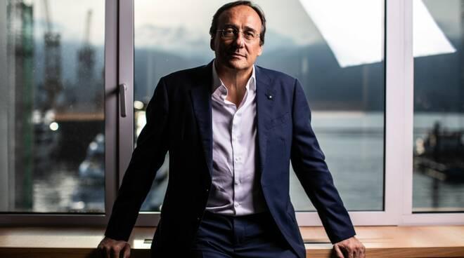 Massimo Perotti presidente San Lorenzo yacht