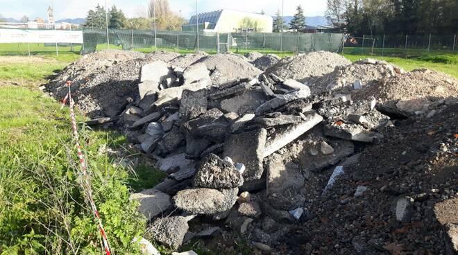 materiale riempimento asfalto Chiariti San Concordio Clara Mei
