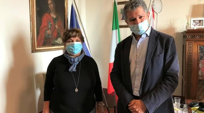 Morena Lotti, dipendente del comune di san miniato, va in pensione