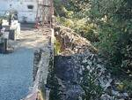 muro crollato al cimitero di Gragnano