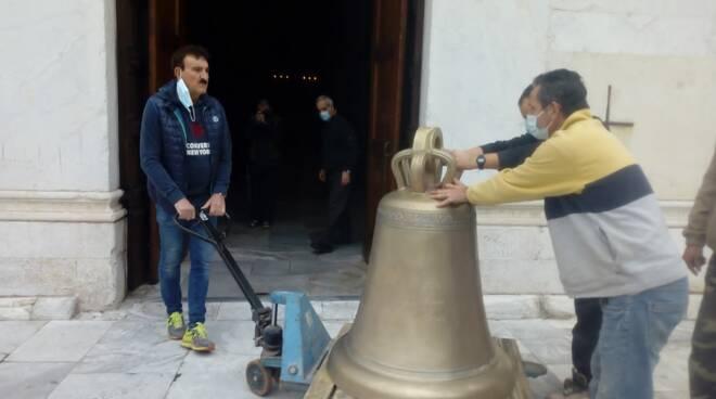 nuova campana san Frediano