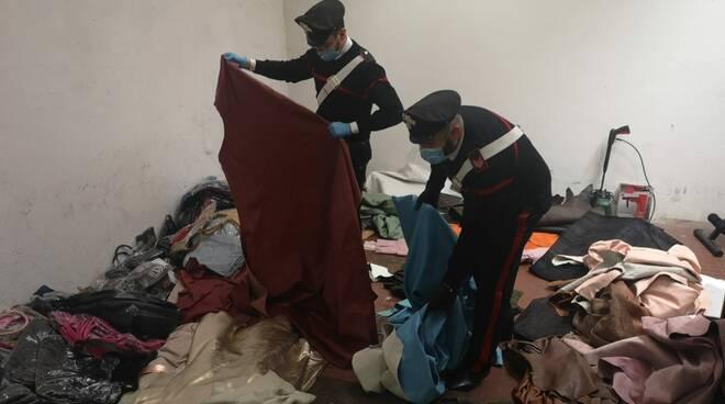 Oggetti rubati trovati nel campo rom a Firenze